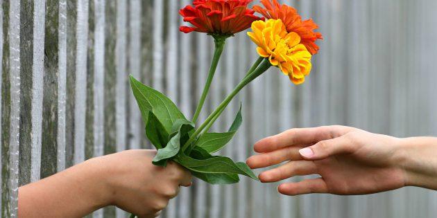 Lebensfreude durch Blumen schenken